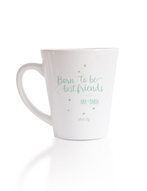 Taza, mugs, personalizedmugs, tazaspersonalizadas, amigas, best friends